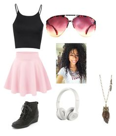 Untitled #22 by peace-love-and-gymnastics on Polyvore featuring polyvore, fashion, style, Glamorous, SOREL, Aéropostale, Jimmy Choo, Beats by Dr. Dre and clothing