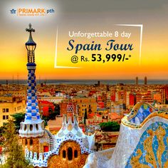 Unforgettable 8 day Spain Tour @ Rs. 53,999/- * Discover the history, artistic heritage and colourful cuisine of Spain. See the sights of Madrid–Granada–Malaga-Marbella-Ronda–Seville–Barcelona. Book here >> http://dv0.co/Fv