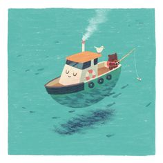 Jacob Grant - Near the Shore on Behance