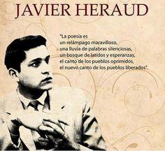 Javier Heraud, poeta peruano.
