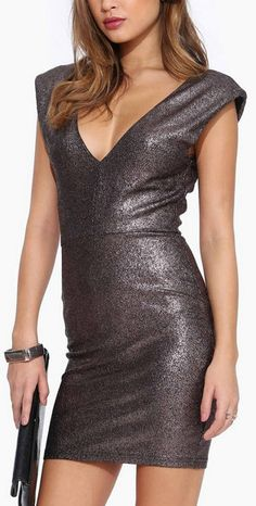 You Won't Foil Me Again! Bodycon Midi Dress