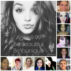 We're all beautiful,be YOUNIQUE www.youniqueproducts.com/LIZRIOS