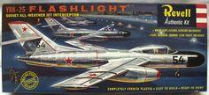 Revell 1/50 Yak-25 Flashlight - 'S' Issue, H296-98 plastic model kit