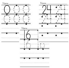 Numeral Writing