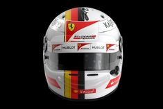Helmet Arai GP6 2017 - Vettel Australia version texture 3D Model .max .c4d .obj .3ds .fbx .lwo .stl @3DExport.com by JAhelmet