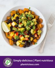 Top Engine 2 Recipes: Rip's Sweet Potato Bowl Dinner Bowls, Fast Dinners, Nutritious Meals, Plant Based Recipes, Fruit Salad, Sweet Potato, Engine, Potatoes, Nutrition