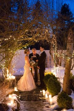 This might just change my mind getting married in the winter