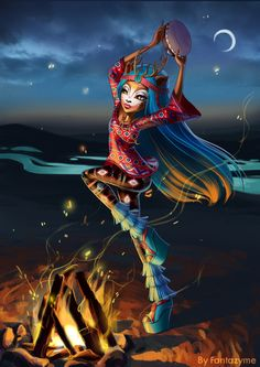 Isi Dawndancer - Monster High new Art