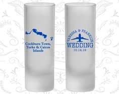 Turks and Caicos Wedding, Frosted Shooter Glasses, Destination Wedding, Cockburn Town Wedding (198)