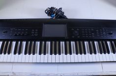 Korg Krome 73-Key Synthesizer Keyboard Workstation W/ Semi-Weighted Keys