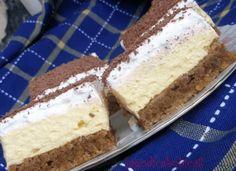 Velmi jednoduchý dezert ke kafíčku: Koláč s pudinkem a se šlehačkou, je božský!