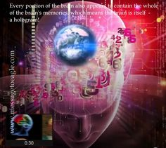 Holographic Universe Theory, True Yoga, Brain Memory, Photographic Film, Quantum Mechanics, Quantum Physics, Hologram, Illusions, Things To Think About
