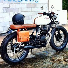 Kawasaki KZ200 by Odum Custom Motorcycles