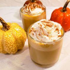 Coffee Recipes, Pumpkin Recipes, Pumpkin Drinks, Fun Easy Recipes, Fall Recipes, Sugar Free Desserts, Dessert Recipes, Smoothie Drinks, Smoothies