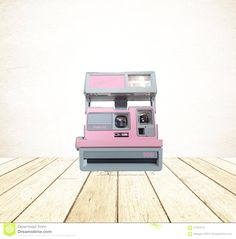 80's Pink Polaroid ~ Vintage Cool Cam Pink Polaroid Camera ~ Photo Prop by LUCKYHOMEFINDS on Etsy