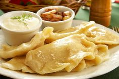 This recipe for potato-cheese pierogi or pierogi ruskie is from chef Marek Widomski of the Culinary Institute in Cracow, Poland.