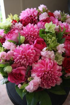 Pink and purple - ftd flowers pink and purple found in: perfect day™ bouquet, god 's gifts™ bouquet, loving sympathy™ basket- basket. Amazing Flowers, Beautiful Roses, Fresh Flowers, Silk Flowers, Beautiful Flowers, Bouquet Flowers, Pink Flower Arrangements, Deco Floral, Flower Quotes