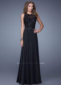 La Femme 20638 Elegant Chiffon Gown
