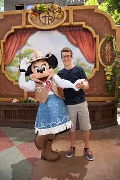 Gavin MacIntosh at Disneyland for #TheFosters wrap party!