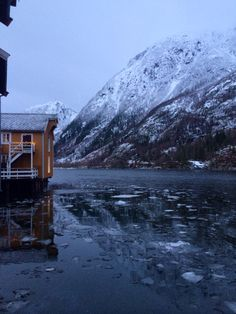 Norway, Mosjøen. Landscape.