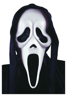 Scream Scary Ghost Halloween Face Mask Shroud Fancy Dress Adult Accessory Unisex in Clothes, Shoes & Accessories, Fancy Dress & Period Costume, Accessories Scream Halloween Costume, Masque Halloween, Scary Halloween Masks, Scary Mask, Halloween Face Makeup, Halloween Party, Halloween Ideas, Fancy Dress Accessories, Halloween Accessories
