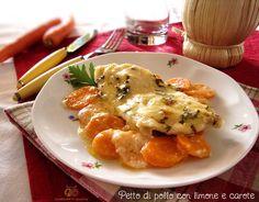 Una ricetta semplice con il petto di pollo, ma molto gustosa, piacerà tanto anche ai bimbi.