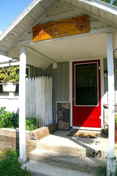 A homeowner hates this ugly eyesore. How she hides it? This is brilliant and cheap: