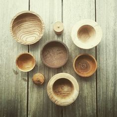 Bowl turning collection