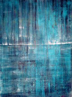 Original Modern Abstract Art HUGE Textured Acrylic Painting on Panel 30 x 40 Fine Art