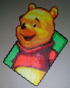 Winnie the Pooh perler beads by Beckylynne on deviantart