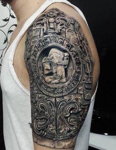 Ornament Tattoo Maori Arm - http://tattootodesign.com/ornament-tattoo-maori-arm/   #Tattoo, #Tattooed, #Tattoos