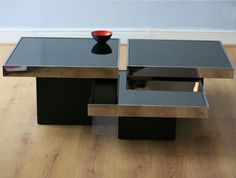 Mirrored Tables – Willy Rizzo