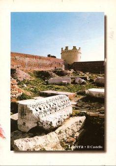 Lucera Castle, Lucera, Italy - 41°30′00″N 15°20′00″E