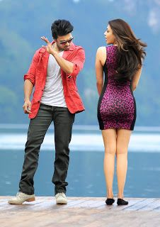 Kajal Agarwal Bum Ass On Display - Hit it as hard as u can - tried by ram charan
