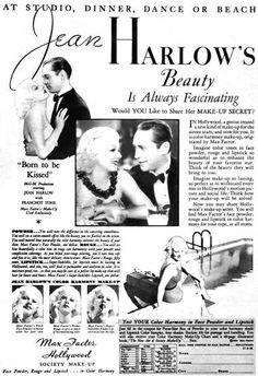 1934 Max Factor Society Make-up
