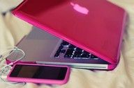 pink macbook <3