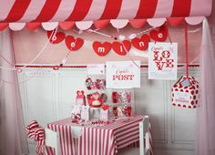 Valentine's Printable Party--post office theme