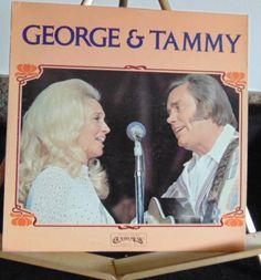 George & Tammy Lp George Jones & Tammy Wynette Near Mint #AlternativeCountryAmericanaContemporaryCountryCountryPopEarlyCountryHonkyTonkTraditionalCountryClassicCountry