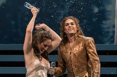 Cute! HANDEL - SEMELE  Brenda Rae (Semele) and Alek Shrader(Jupiter) Seattle Opera 2015 Feb
