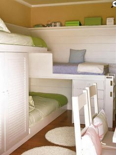 Better Than Laundry: Triple Bunk Bed