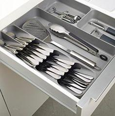 Joseph Joseph 85119 DrawerStore Kitchen Drawer Organizer Tray for Cutlery Silverware, Gray: Amazon.ca: Home & Kitchen