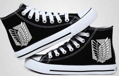 Attack on Titan Shoes - The Survey Corps - AnimePond - 1