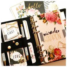 Heidi Swapp Collection addict#katespadeplanner#kikkik#kikkiplanner  by myplannerheart