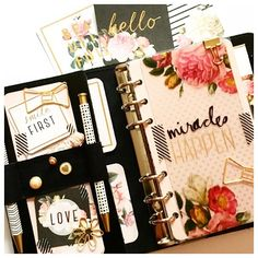 Heidi Swapp Collection addict#katespadeplanner#kikkik#kikkiplanner  by myplannerheart