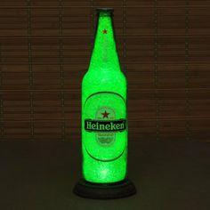 Big 24oz Heineken Beer Bottle Lamp/Bar Light / by BodaciousBottles, $34.95