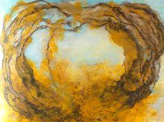 In the gilded heart... 120x150cm acrylic canvas