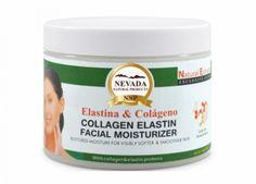 CREMA FACIAL DE COLAGENO Hidratante facial con colágeno y elastina, nutre e hidrata la piel sin dejar sensación grasosa.