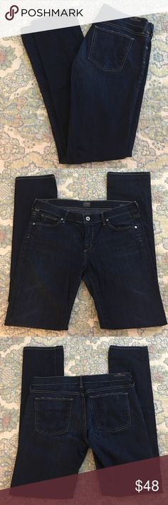 """COH Ava COH Ava low rise straight leg. No damage; no signs of wear. Intentional distressing on pockets and hem. Beautiful color, feel and fit. 33"""" inseam 8 1/2"""" rise 17"""" flat waist, 20"""" flat hip.  Price Firm. Citizens of Humanity Jeans Straight Leg"""