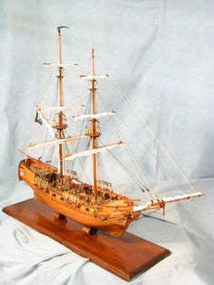 Corsair Pirate Ship scale model
