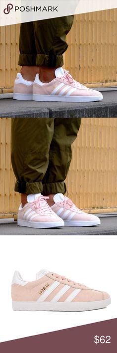 Details zu adidas Gazelle Stitch And Turn W Damen Pink Wildleder Sneaker 5 UK